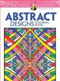 Creative Haven Abstract Designs Coloring Book, Brian Johnson, 0486779564