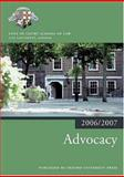 Advocacy 2006-07, Inns of Court School of Law, 0199289565