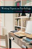 Writing Papers in Psychology, Rosnow, Mimi and Rosnow, Ralph L., 0495509566