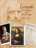 Leonardo Paintings and Drawings, Leonardo da Vinci, 0486439569
