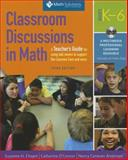 Classroom Discussions in Math, Suzanne H. Chapin and Catherine O'Connor, 1935099566