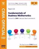 CIMA Official Learning System Fundamentals of Business Maths, CIMA Communications Staff and Eaton, Graham, 0750689579