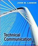 Technical Communication, Lannon, John M., 0205559573