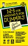 QR/1-2-3 for Windows 5 for Dummies, Walkenbach, John, 1568849575