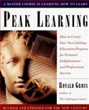 Peak Learning, Ronald Gross, 087477957X