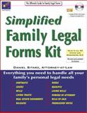 Simplified Family Legal Forms Kit, Daniel Sitarz, 1892949571