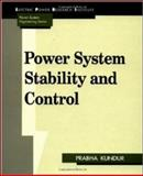 Power System Stability and Control, Kundur, Prabha, 007035958X