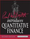 Paul Wilmott Introduces Quantitative Finance 2nd Edition