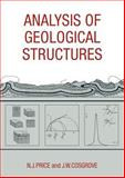 Analysis of Geological Structures, Price, Neville J. and Cosgrove, John W., 0521319587