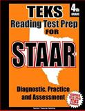 TEKS 4th Grade Reading Test Prep for STAAR, Teachers Treasures, 1500659584