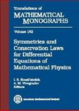 Symmetries and Conservation Laws for Differential Equations of Mathematical Physics, Bocharon, A. V. and Krasil'shchik, I. S., 082180958X