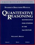 Quantitative Reasoning 9780201809589