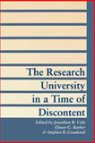 The Research University in a Time of Discontent, , 0801849586