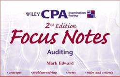 Focus Notes : Auditing, Edward, Mark, 0471389595