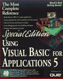 Special Edition Using Visual Basic for Applications 5, Sanna, Paul, 0789709597