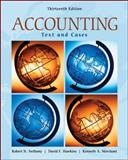 Accounting : Texts and Cases, Anthony, Robert N. and Hawkins, David, 007337959X