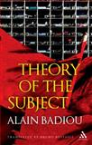 Theory of the Subject, Alain Badiou, 1441159592