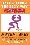 Learning Chinese the Easy Way: Simplified Characters, Level 1, Book 3, Sam Song, 1466359609