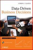 Data-Driven Business Decisions, Lloyd, Chris J., 0470619600