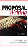 Proposal Writing, Coley, Soraya M. and Scheinberg, Cynthia A., 0761919600