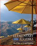 Elementary Algebra, Tussy, Alan S. and Gustafson, R. David, 0495389609