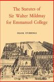 The Statutes of Sir Walter Mildmay, Mildmay, Walter, 0521019605