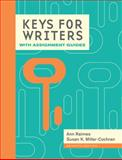 Keys for Writers with Writing Assignments, Raimes, Ann, 1285769600
