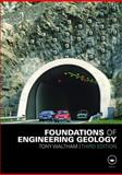 Foundations of Engineering Geology, Waltham, Tony, 0415469600