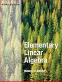 Elementary Linear Algebra 9th Edition
