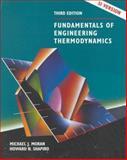 Fundamentals of Engineering Thermodynamics : SI Version, Moran, Michael J. and Shapiro, Howard N., 0471979600