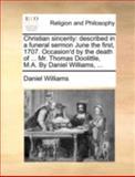 Christian Sincerity, Daniel Williams, 1140769618