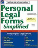 Personal Legal Forms Simplified, Daniel Sitarz, 189294961X