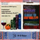 Publisher's International ISBN Directory Plus, International ISBN Agency Staff, 3598409613