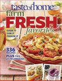 Taste of Home Farm Fresh Favorites, Taste Of Home, 0898219612
