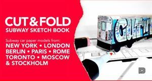 Cut and Fold Subway Sketchbook, Martin Ander, 9185639613