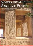Voices from Ancient Egypt : An Anthology of Middle Kingdom Writings, Parkinson, R. B., 0714109614