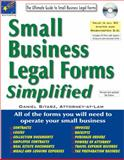 Small Business Legal Forms Simplified, Daniel Sitarz, 1892949628