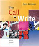 The Call to Write (with 2009 MLA Update Card), Trimbur, John, 0495899623