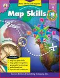 Map Skills, Grade 4, Sharon Thompson, 0887249620