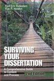Surviving Your Dissertation : A Comprehensive Guide to Content and Process, Rudestam, Kjell Erik and Newton, Rae R., 0761919627