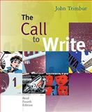 The Call to Write : Brief Edition (with 2009 MLA Update Card), Trimbur, John, 0495899631