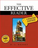 Effective Reader, the Updated Edition (with Study Card for Vocabulary), Henry, D. J., 0321469631