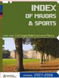 College Admissions Data Sourcebook Index of Majors and Sports 9781933119632