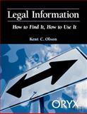 Legal Information, Kent Olson, 0897749634