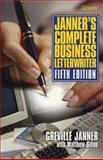 Janner's Complete Business Letterwriter, Janner, Lord and Solon, Matthew, 0566079631