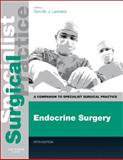 Endocrine Surgery - Print and E-Book : A Companion to Specialist Surgical Practice, , 0702049638