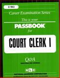 Court Clerk I, Jack Rudman, 0837309638