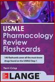 USMLE Pharmacology Review Flash Cards, Crisp, Terriann, 007179963X