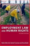 Employment Law and Human Rights, Beale, Anna, 0199299633