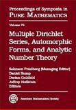 Multiple Dirichlet Series, Automorphic Forms, and Analytic Number Theory, , 0821839632